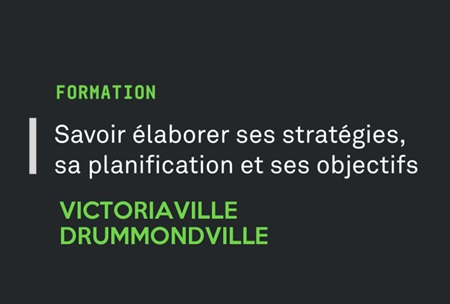 Inscription Victoriaville et Drummondville